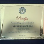 INTERPORDUCT AWARDED AGAIN BY JURY OF NOVI SAD FAIR Latest news